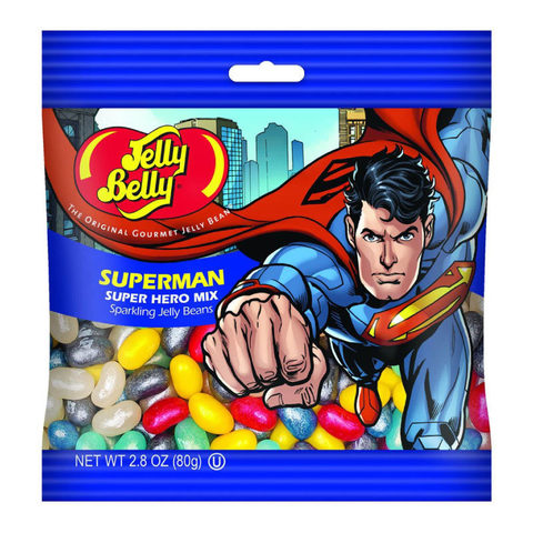 Конфеты Jelly belly Superman