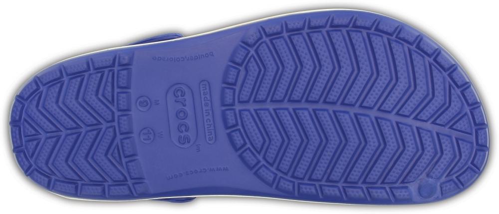 Купить Сабо Crocs Crocband Cerulean Blue / Oyster