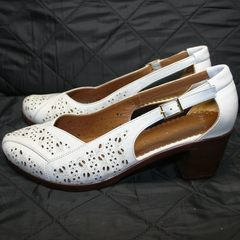 Женские туфли летние Marani Magli 031 405 White.