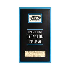 Рис Casa Rinaldi среднезёрный обрушенный не полированный Карнароли 500г
