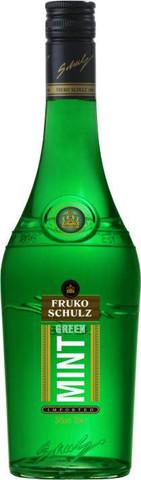 Ликер Fruko Schulz Green Mint, 0.7 л