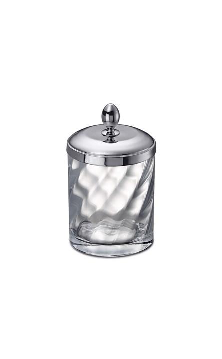 Для косметики Емкость для косметики большая Windisch 88804CR Salomonic Spiral Silver emkost-dlya-kosmetiki-bolshaya-88804cr-salomonic-spiral-silver-ot-windisch-ispaniya.jpg