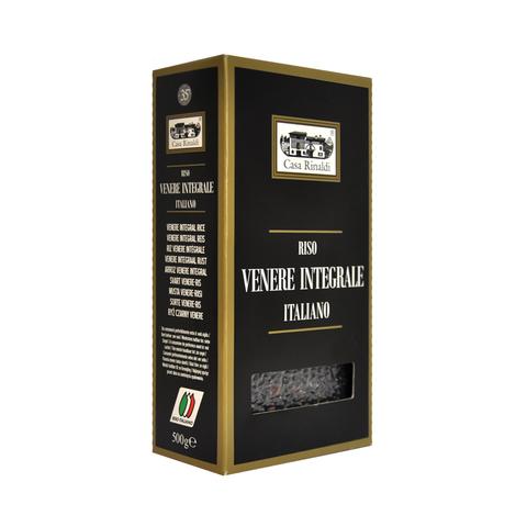 Рис Casa Rinaldi шелушёный не полированный Венере 500г