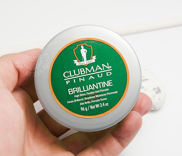 RAZ28001 Гель-бриллиантин для укладки волос Clubman Brilliantine (100 мл) фото 04