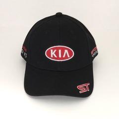 Кепка с вышитым логотипом КИА (Кепка KIA) черная