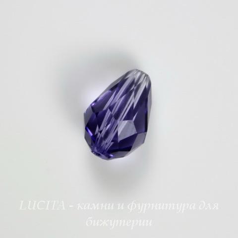 5500 Бусина - капля Сваровски Tanzanite  9х6 мм ()