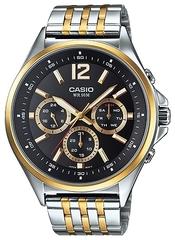 Мужские японские наручные часы CASIO MTP-E303SG-1A
