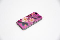 Чехол для iPhone 5 / 5S мягкий силикон с ламинированным принтом №27