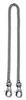 Цепочка Victorinox, с 2 карабинами, никелированная, 40 см