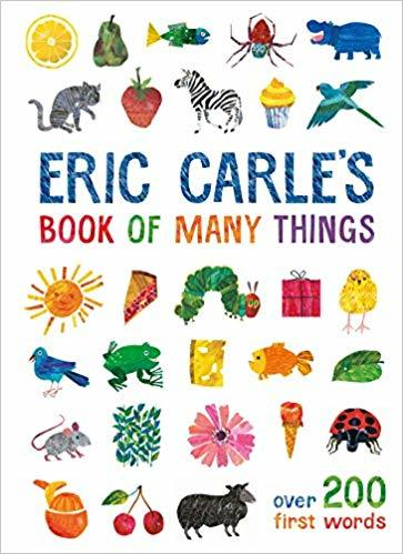 Kitab Eric Carle's Book of Many Things: Over 200 First Words | Eric Carle