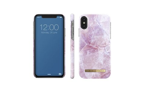 Чехол iDeal of Sweden Pilion Pink Marble IPhone X