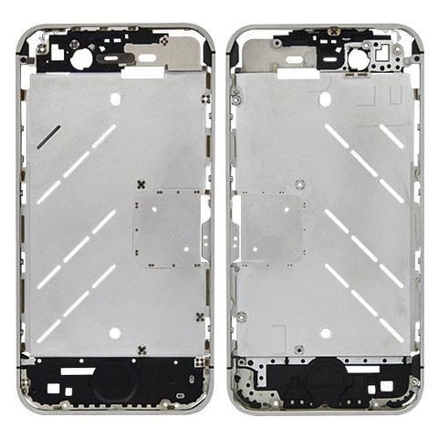Средняя металлическая часть корпуса iPhone 4