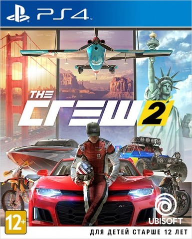 Sony PS4 The Crew 2 (русская версия)