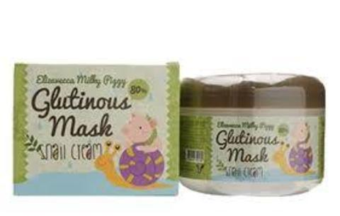 Крем маска с муцином улитки Milky Piggy Glutinous Mask 80% Snail Cream, 100 мл