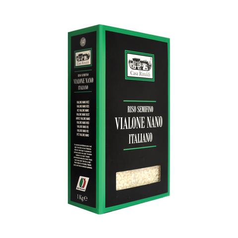 Рис Casa Rinaldi среднезёрный обрушенный не полированный Виалоне нано 1кг