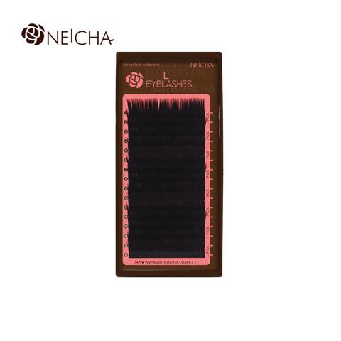Ресницы NEICHA нейша MIX 16 линий L-изгиб Natural Straight