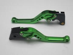 Короткие рычаги тормоза/сцепления для мотоциклов Triumph Зеленый