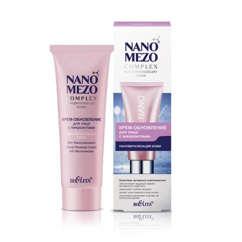 Белита NanoMezoComplex Крем-обновление для лица с микроиглами «Нановитализация кожи» 50мл