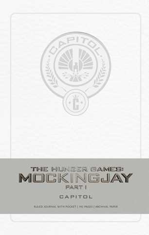 Записная книжка Hunger Games Mockingjay Capitol