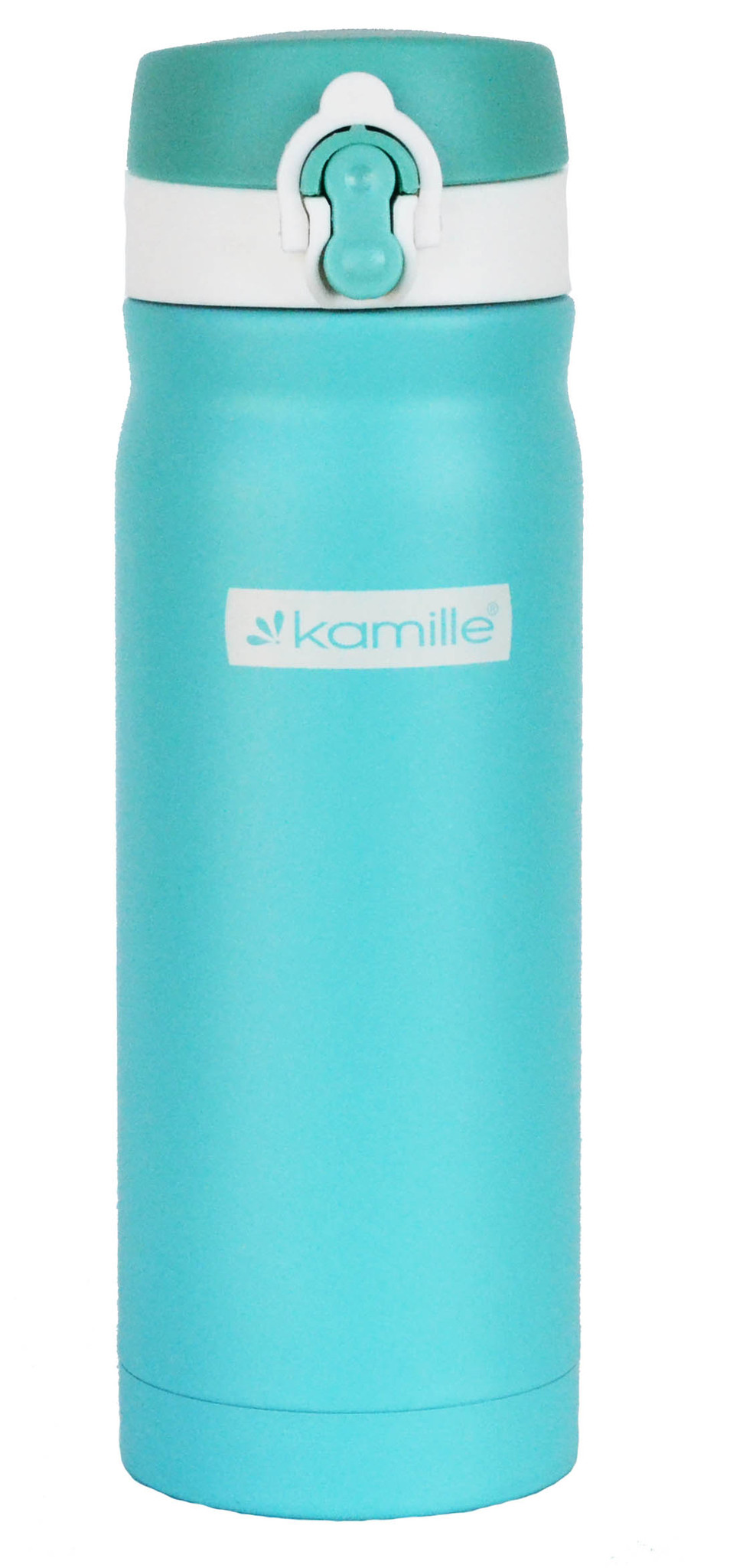 Термос-кружка Kamille 450 мл. голубой