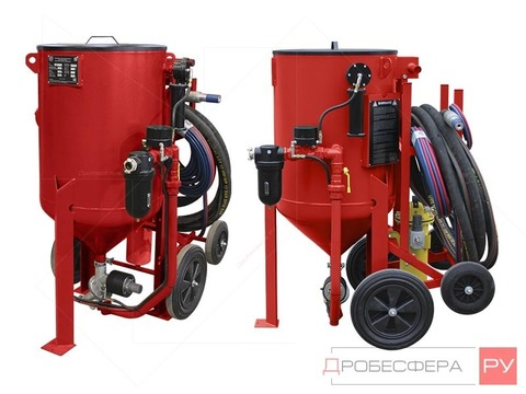 Комплект пескоструйного оборудования (пост пескоструйщика) DSG®-200 литров