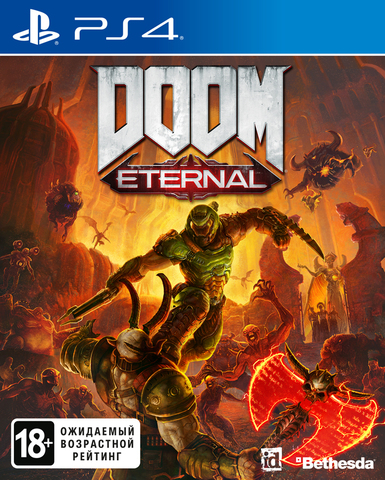 PS4 DOOM Eternal (русская версия)