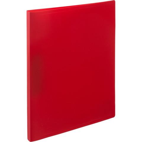 Папка с метал. прижимом Attache 055Z-E красный