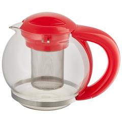 Чайник заварочный 1500мл ВЕ-5573/1 красный с металлическим фильтром
