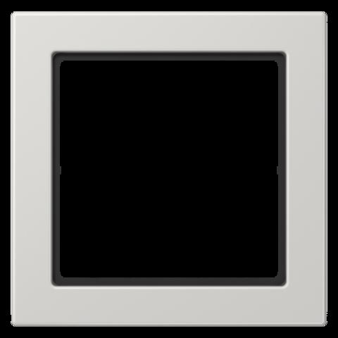 Рамка на 1 пост. Цвет Светло серый. JUNG FD - ДИЗАЙН. FD981LG