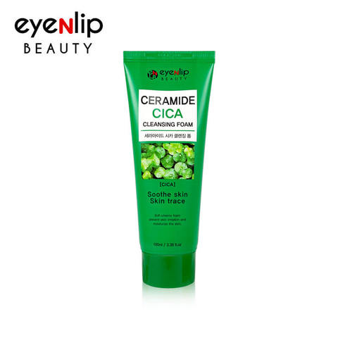 Пенка для умывания с экстрактом центеллы EYENLIP Ceramide CICA Cleansing Foam 5 Type 100ml