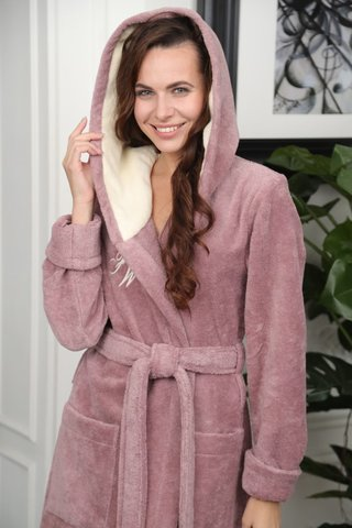 Махровый халат из бамбука Violetta (EFW)