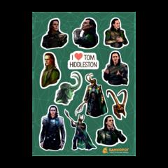 Набор стикеров Loki