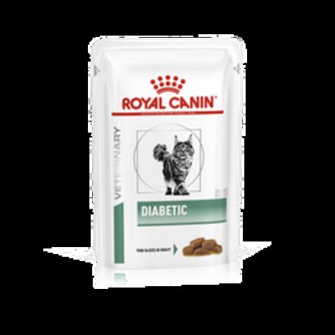 Royal Canin Diabetic при сахарном диабете для кошек 85 г
