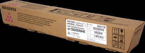 Принт-картридж Ricoh SP C820, малиновый. Ресурс 15000 стр. (820118)