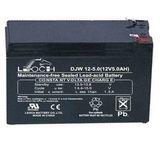 Аккумулятор LEOCH DJW12-5,0 ( 12V 5Ah / 12В 5Ач ) - фотография
