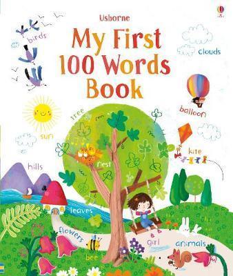 Kitab My First 100 Words | Felicity Brooks