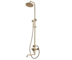 Комплект одноручковый для ванны и душа Bronze de Luxe 10120DF/1