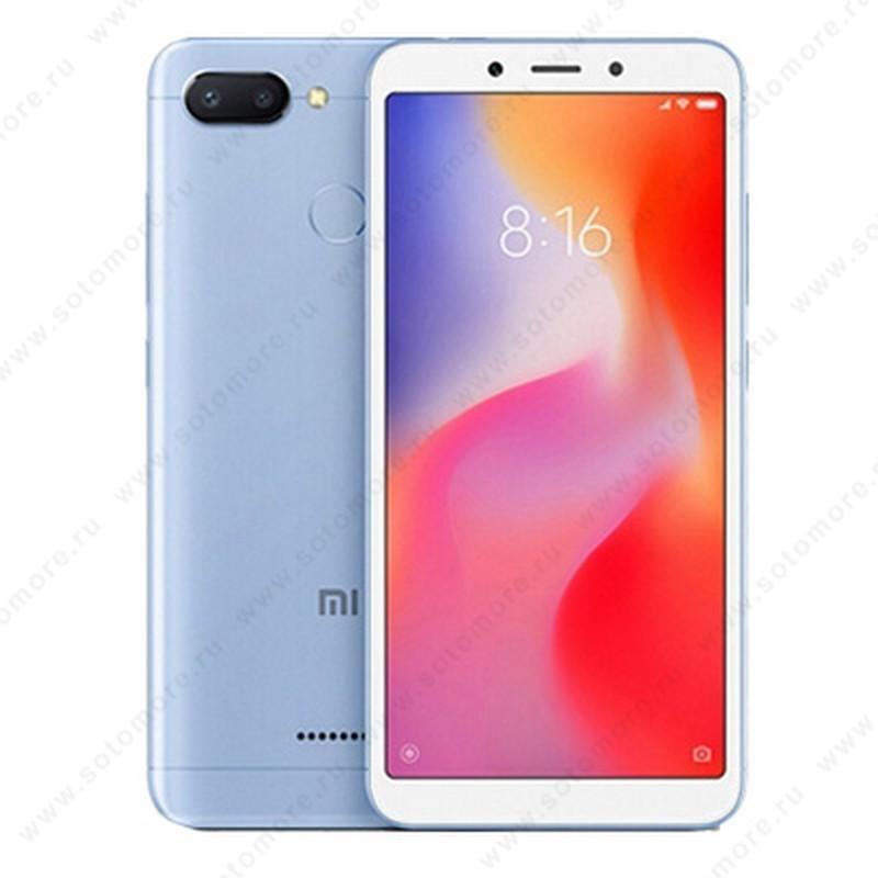 Смартфон Xiaomi Redmi 6A 2/32Gb голубой РСТ