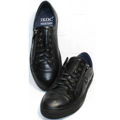 Мужская полуспортивная обувь Ікос 1528-1 Black