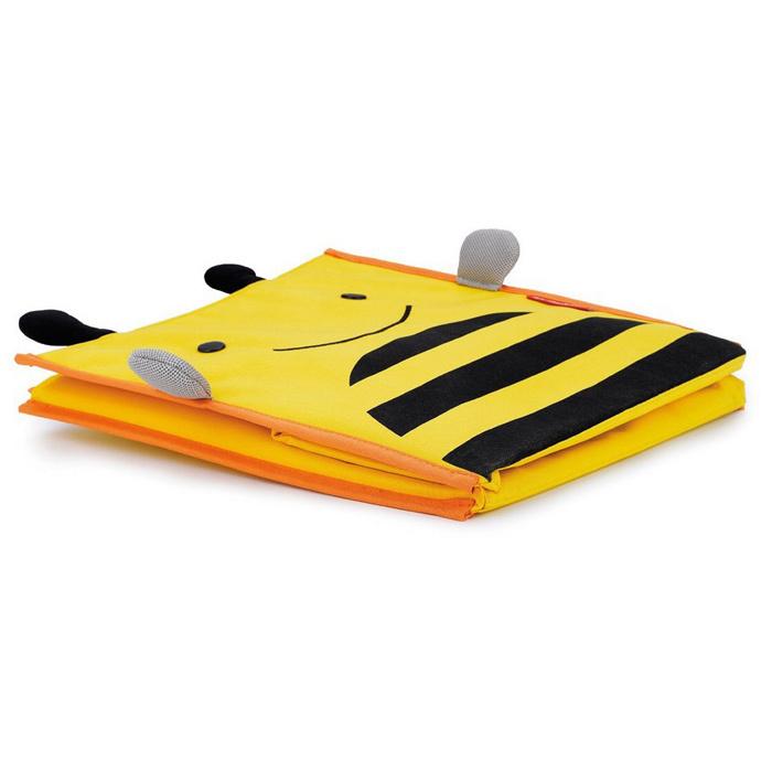 складной детский ящик для игрушек без крышки с ручками пчёлка