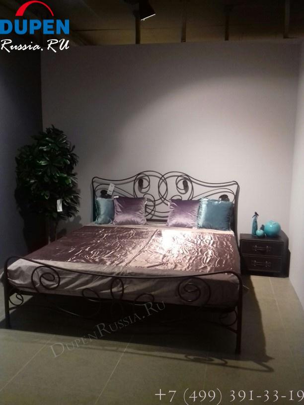 Кровать DUPEN (Дюпен) 531 OLGA состаренное золото