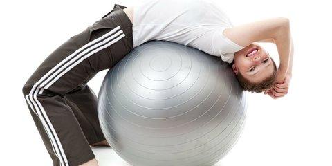 <p>Гимнастический мяч предназначен для занятий фитнесом, аэробикой,...