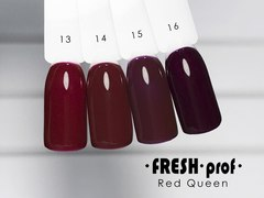 Гель лак Fresh Prof Red Queen 10мл R15