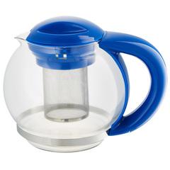 Чайник заварочный 1500мл ВЕ-5573/9 синий с металлическим фильтром