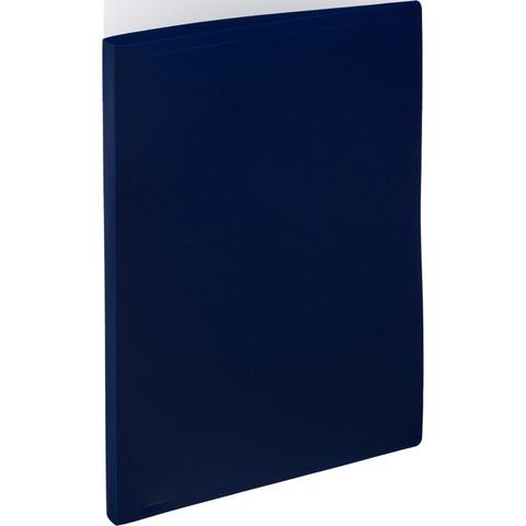 Папка с метал. прижимом Attache 055Z-E синий