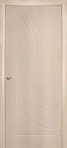 Дверь Дубрава Сибирь Лилия, цвет беленый дуб, глухая