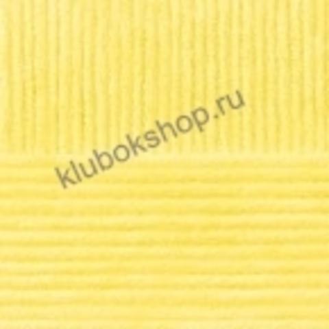 Пряжа Осенняя (Пехорка) цвет 53 светло-желтый