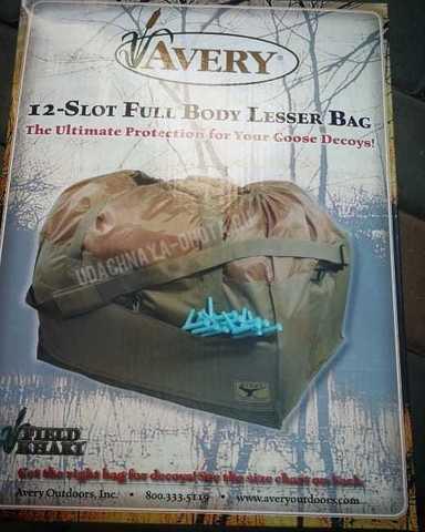 Сумка 12-Slot Full Body Lesser Bag на 12 полнокорпусных гусей GHG