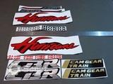 Наклейки набор Honda CBR 250 R Hurricane