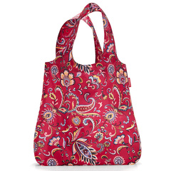 Сумка складная Mini maxi shopper paisley ruby Reisenthel
